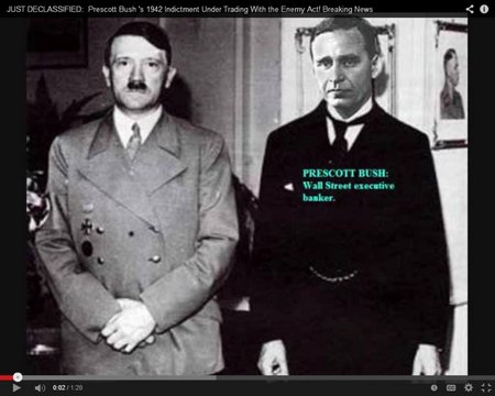 Prescott Bush with Hitler
